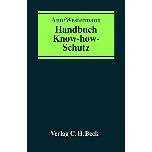 Ingo Westermann - Handbuch Know-how-Schutz - Preis vom 31.03.2020 04:56:10 h