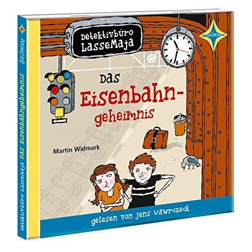 Martin Widmark - Detektivbüro LasseMaja. Das Eisenbahngeheimnis: Sprecher: Jens Wawrczeck. 1 CD. Laufzeit ca. 45 Min. - Preis vom 27.01.2021 06:07:18 h