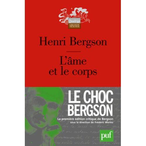 Henri Bergson - L'âme et le corps - Preis vom 06.09.2020 04:54:28 h