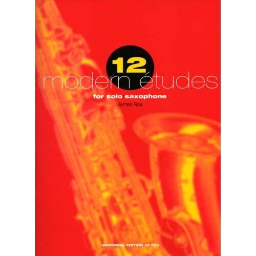 - 12 Modern Etudes for Solo Saxophone. Saxophon - Preis vom 22.01.2021 05:57:24 h