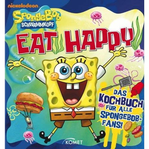 - SpongeBob: Eat Happy: Das Kochbuch für alle SpongeBob-Fans! - Preis vom 14.01.2021 05:56:14 h