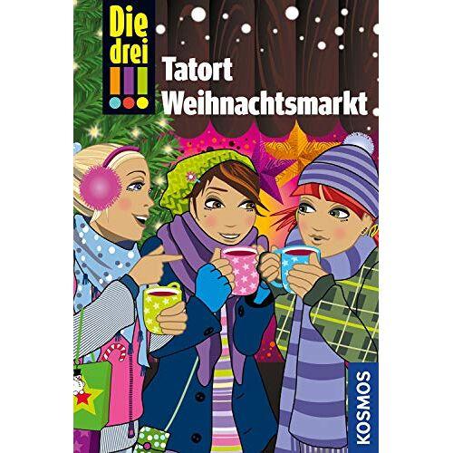 Maja von Vogel - Die drei !!!, Tatort Weihnachtsmarkt: Dein Weihnachtskrimi - Preis vom 24.02.2021 06:00:20 h