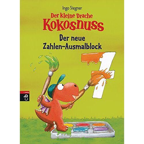 Ingo Siegner - Der kleine Drache Kokosnuss - Der neue Zahlen-Ausmalblock - Preis vom 19.10.2020 04:51:53 h