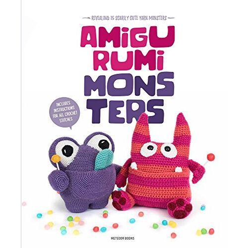 Amigurumipatterns.net - Amigurumi Monsters: Revealing 15 Scarily Cute Yarn Monsters - Preis vom 15.04.2021 04:51:42 h