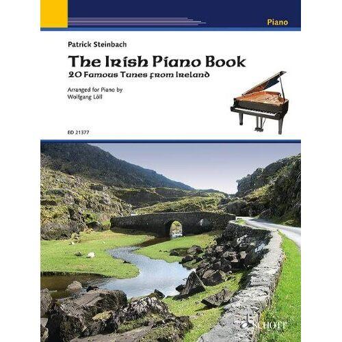 Patrick Steinbach - The Irish Piano Book: 20 famous tunes from Ireland. Klavier. - Preis vom 23.01.2021 06:00:26 h