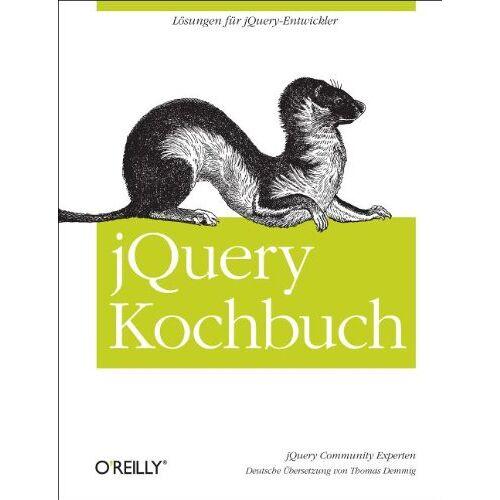 jQuery Community Experts - jQuery Kochbuch - Preis vom 23.01.2021 06:00:26 h