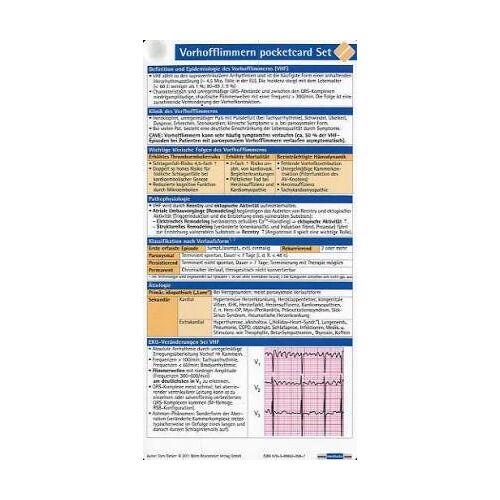 - Vorhofflimmern pocketcard Set (3er) - Preis vom 06.09.2020 04:54:28 h