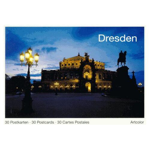 - Dresden. 30 Postkarten /30 Postcards /30 Cartes Postales - Preis vom 12.04.2021 04:50:28 h
