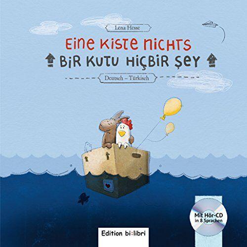Lena Hesse - Eine Kiste Nichts: Kinderbuch Deutsch-Türkisch - Preis vom 09.04.2021 04:50:04 h