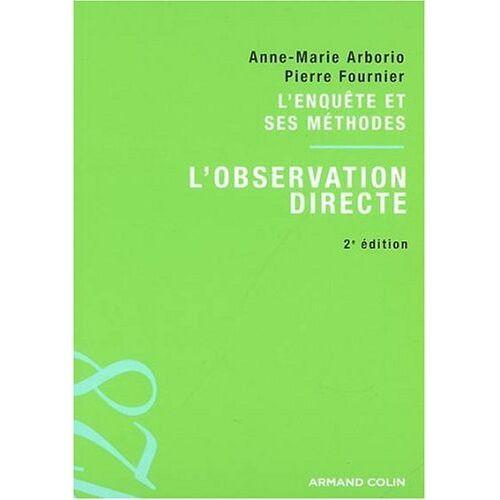Anne-Marie Arborio - L'observation directe - Preis vom 20.10.2020 04:55:35 h