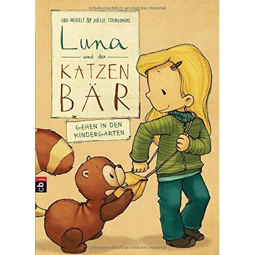 Udo Weigelt - Luna und der Katzenbär gehen in den Kindergarten (Die Katzenbär-Reihe, Band 4) - Preis vom 08.05.2021 04:52:27 h