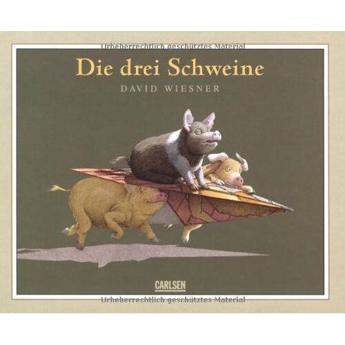 David Wiesner - Die drei Schweine - Preis vom 20.10.2020 04:55:35 h
