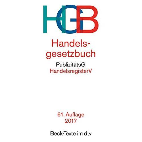 Wolfgang Hefermehl - Handelsgesetzbuch HGB: mit Seehandelsrecht, mit Wechselgesetz und Scheckgesetz und Publizitätsgesetz - Preis vom 10.05.2021 04:48:42 h