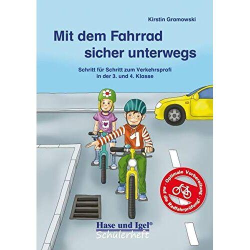 Kirstin Gramowski - Mit dem Fahrrad sicher unterwegs: Schritt für Schritt zum Verkehrsprofi in der 3. und 4. Klasse - Preis vom 16.01.2021 06:04:45 h