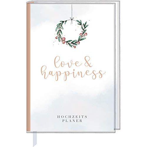 - Eintragbuch mit Sammeltasche - love & happiness: Hochzeitsplaner - Preis vom 26.02.2020 06:02:12 h