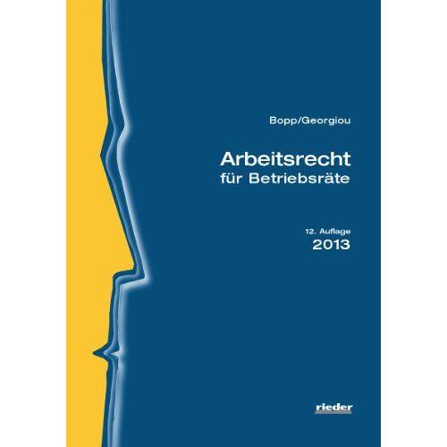 Peter Bopp - Arbeitsrecht für Betriebsräte - Preis vom 05.09.2020 04:49:05 h