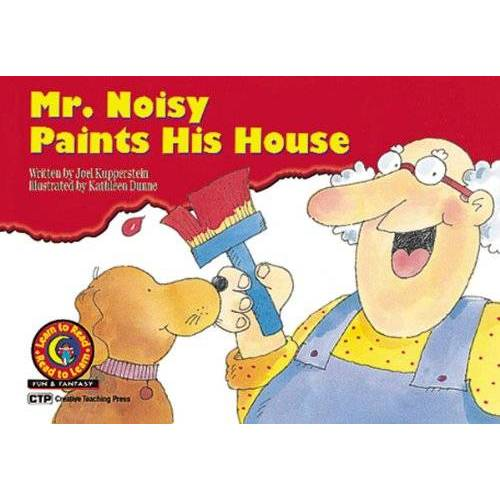 Joel Kupperstein - Mr. Noisy Paints His House (Learn to Read Fun and Fantasy) - Preis vom 03.09.2020 04:54:11 h