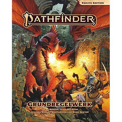 Logan Bonner - Pathfinder 2 - Grundregelwerk (Pathfinder / Fantasy-Rollenspiel) - Preis vom 03.05.2021 04:57:00 h