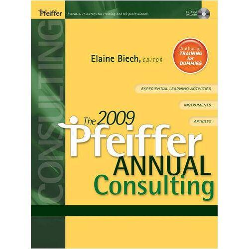 Elaine Biech - Pfeiffer Annual (Pfeiffer Annual: Consulting) - Preis vom 16.04.2021 04:54:32 h