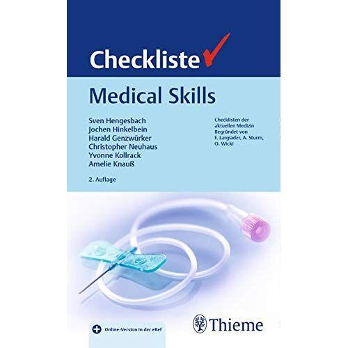 - Checkliste Medical Skills (Checklisten Medizin) - Preis vom 15.01.2021 06:07:28 h