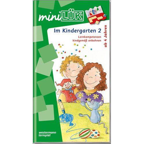 Michael Junga - miniLÜK: Kindergarten / Vorschule / Im Kindergarten 2: Lernkompetenzen kindgemäß anbahnen - Preis vom 08.05.2021 04:52:27 h