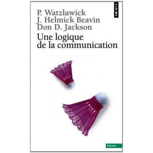 Paul Watzlawick - Une logique de la communication (Points-Essai) - Preis vom 24.02.2021 06:00:20 h