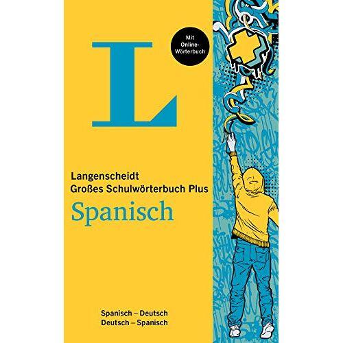 - Langenscheidt Das große Schulwörterbuch Spanisch Plus: Spanisch-Deutsch / Deutsch-Spanisch - Preis vom 13.05.2021 04:51:36 h