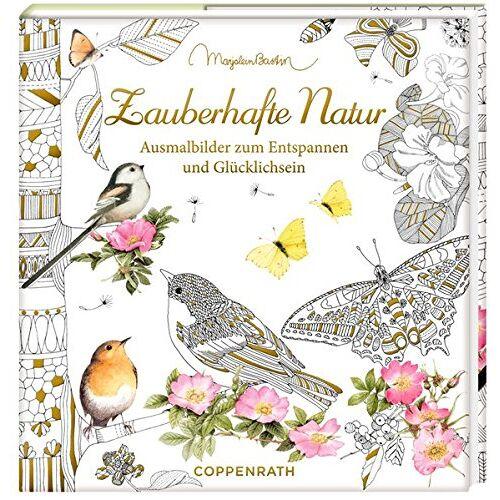 - Ausmalbuch - Meine zauberhafte Natur: Meditative Ausmalbilder zum Glücklichsein - Preis vom 28.02.2021 06:03:40 h
