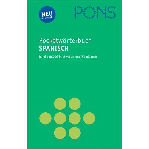 - PONS Pocket Wörterbuch Spanisch: Spanisch - Deutsch / Deutsch - Spanisch - Preis vom 21.10.2020 04:49:09 h