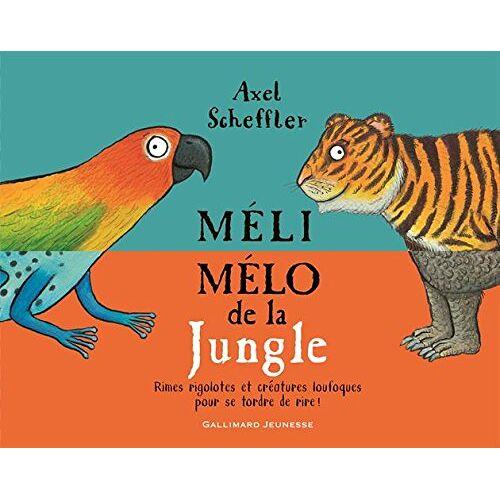 Axel Scheffler - Méli-mélo de la jungle - Preis vom 14.05.2021 04:51:20 h