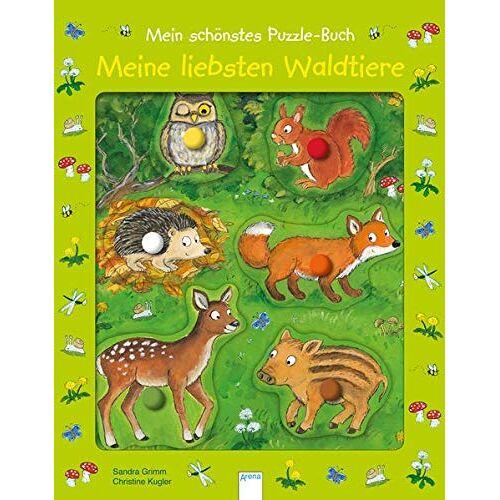 Sandra Grimm - Mein schönstes Puzzle-Buch. Meine liebsten Waldtiere - Preis vom 20.10.2020 04:55:35 h