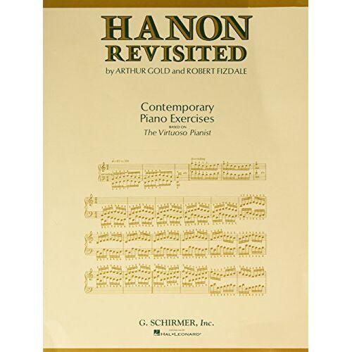 - Hanon Revisited: Contemporary Piano Exercises: Piano Technique - Preis vom 07.05.2021 04:52:30 h