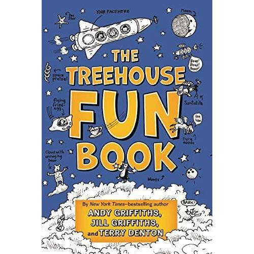 Jill Griffiths - The Treehouse Fun Book (Treehouse Book Series) - Preis vom 17.04.2021 04:51:59 h