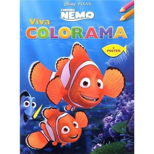 Disney Pixar - Disney Viva Colorama Finding Nemo 3D (met poster) / Disney Viva Colorama Finding Nemo 3D (avec poster) - Preis vom 20.10.2020 04:55:35 h