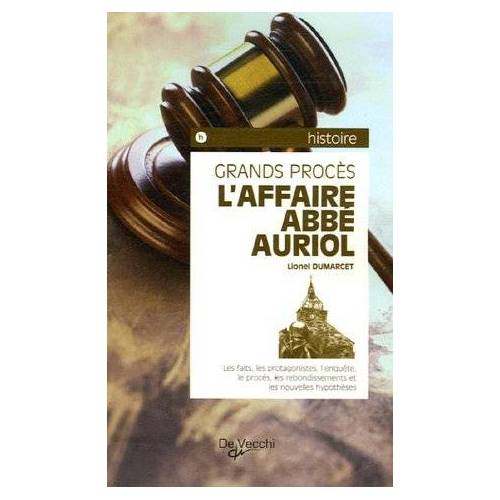 Lionel Dumarcet - L'Affaire Abbé Auriol - Preis vom 24.02.2021 06:00:20 h