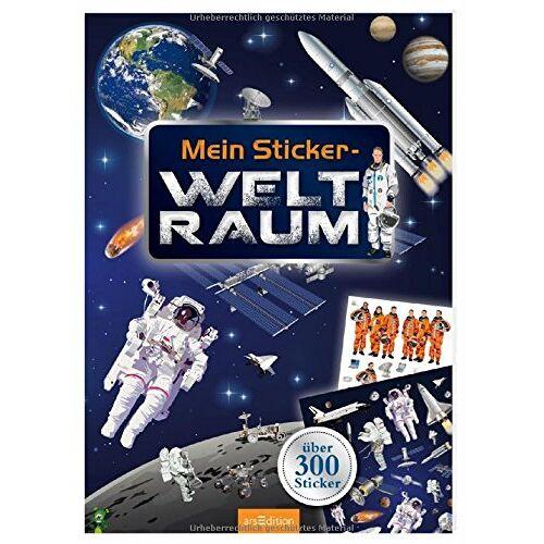 - Mein Sticker-Weltraum (Mein Stickerbuch) - Preis vom 16.05.2021 04:43:40 h