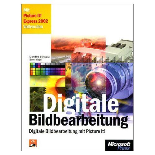 Manfred Schwarz - Digitale Bildbearbeitung, m. CD-ROM - Preis vom 08.05.2021 04:52:27 h
