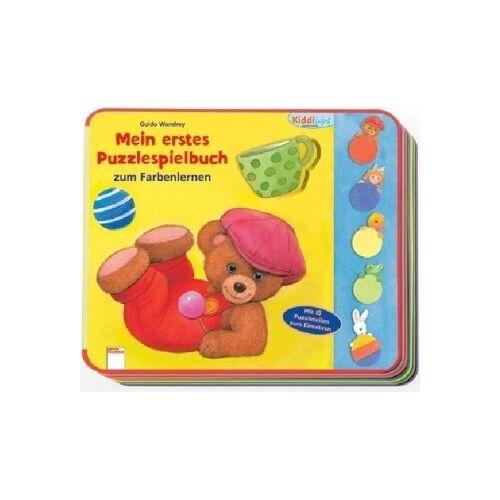 Guido Wandrey - Mein erstes Puzzlespielbuch zum Farbenlernen: K520 - Preis vom 10.05.2021 04:48:42 h