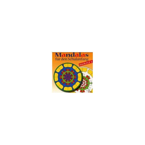 - Mandalas für den Schulanfang, Malblocks, Bl.2: Malblock 2 - Preis vom 12.06.2019 04:47:22 h