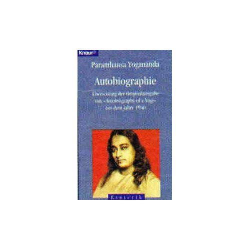 Paramahansa Yogananda - Autobiographie - Preis vom 17.07.2019 05:54:38 h
