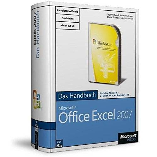Jürgen Schwenk - Microsoft Office Excel 2007 - Das Handbuch: Das ganze Softwarewissen - Preis vom 15.06.2019 04:47:26 h