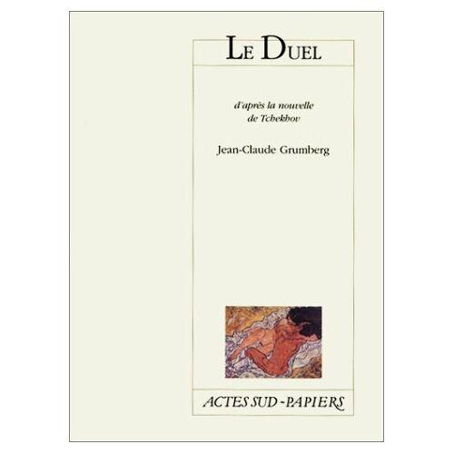 Jean-Claude Grumberg - Duel (le) (Le théâtre d'actes sud-papiers) - Preis vom 21.10.2020 04:49:09 h