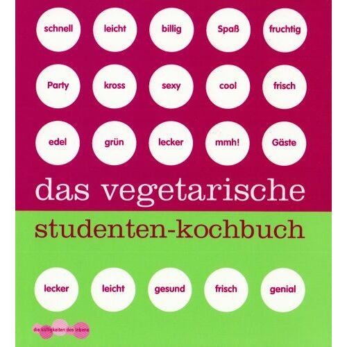 - Das vegetarische Studenten-Kochbuch - Preis vom 06.09.2020 04:54:28 h