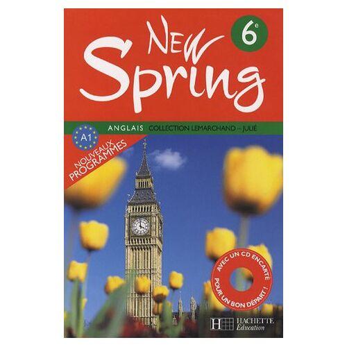 François Lemarchand - Anglais 6e New Spring (1CD audio) - Preis vom 20.10.2020 04:55:35 h