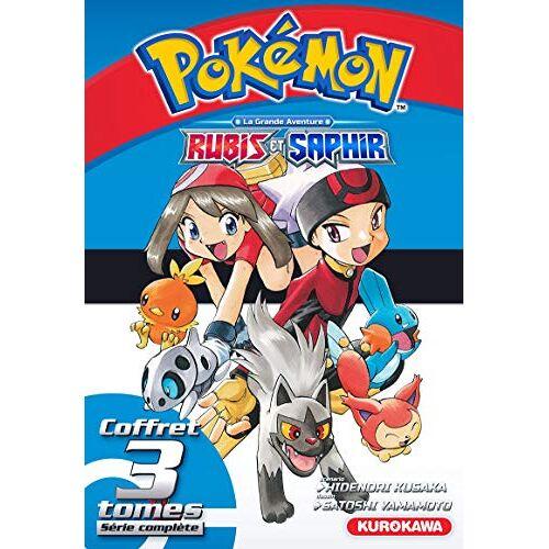 - Coffret Pokémon Rubis et Saphir - tomes 1-2-3 (Pokemon) - Preis vom 31.03.2020 04:56:10 h