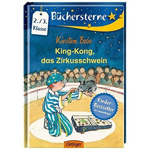 Kirsten Boie - King Kong, das Zirkusschwein (Büchersterne) - Preis vom 16.04.2021 04:54:32 h