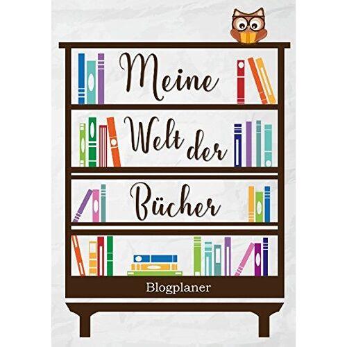 Juliana Fabula - Meine Welt der Bücher: Blogplaner - Preis vom 01.03.2021 06:00:22 h