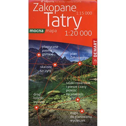 - Tatry Zakopane Mapa turystyczna 1:20 000 - Preis vom 06.05.2021 04:54:26 h