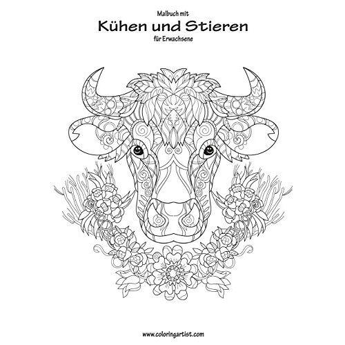 Nick Snels - Malbuch mit Kühen und Stieren für Erwachsene 1 - Preis vom 04.04.2020 04:53:55 h
