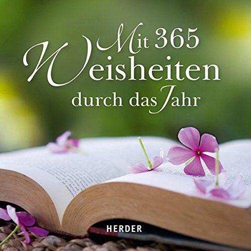 - Mit 365 Weisheiten durch das Jahr - Preis vom 07.12.2019 05:54:53 h